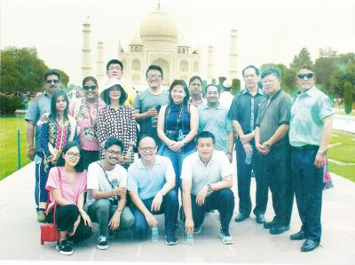 Day 4 - Visit to TAJ - Group pic